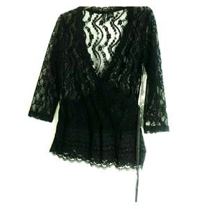 New Direction Lacy Blouse